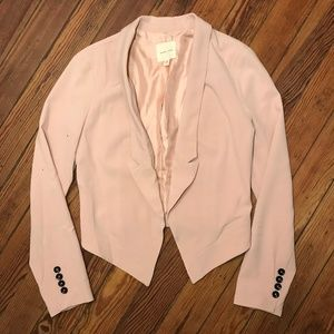 silence + noise Urban Outfitters Light Pink Blazer